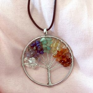 Jewelry - Tree of Life Necklace❤️🧡💛💚💙💜